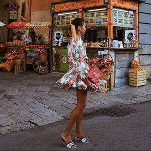Rhode Ella Floral Dress With Belt 😍 NWT